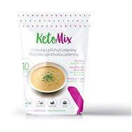 KetoMix Proteínová polievka 300 g (10 porcií) – s príchuťou zeleniny - Trvanlivé jedlo