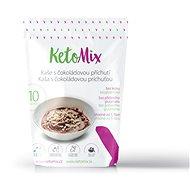 KetoMix Proteínová kaša 280 g (10 porcií) – s čokoládovou príchuťou - Proteínová kaša