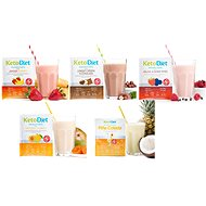 KetoDiet proteínový nápoj – (7porcií) - Trvanlivé jedlo
