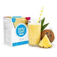 KetoDiet proteínový nápoj – piňa colada (7porcií) - Trvanlivé jedlo