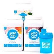 KetoDiet 3 týdenní proteinové nápoje MEDIUM 1. krok - Proteínová sada