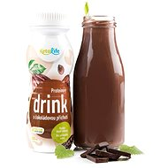 KetoLife Protein drink with chocolate flavor (250 ml - 1 serving) - Long Shelf Life Food