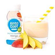 KetoDiet Proteínové smoothie Mango (200 ml, 1 porcia) - Trvanlivé jedlo