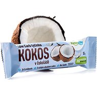 KetoLife Low Carb Bar - Coconut in chocolate - Long Shelf Life Food