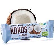 KetoLife Low Carb tyčinka - Kokos v čokoláde - Trvanlivé jedlo
