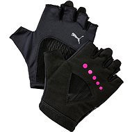 Puma Gym Gloves Puma Black-Ultra Magenta veľ. M - Rukavice