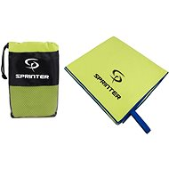 Sprinter – uterák z mikrovlákna 100 × 160 cm – zelený - Uterák