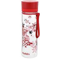Aladdin Aveo Aveo 600 ml červená s potlačou - Fľaša na vodu