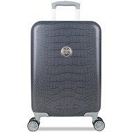 Suitsuit Grey Diamond Krokodíl S - Cestovný kufor s TSA zámkom