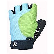 Haven Kiowa krátke modrá / zelená - Cyklistické rukavice