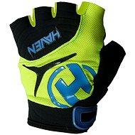 Haven Demo kid krátka zelená / modrá veľkosť 2 - Cyklistické rukavice