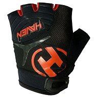 Haven Demo kid short black/red veľkosť 2 - Cyklistické rukavice