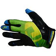 Haven Singletrail Dlhá čierna / zelená - Cyklistické rukavice