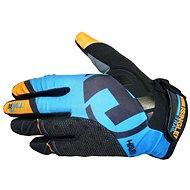 Haven Singletrail Dlhé čierne / modré - Cyklistické rukavice