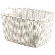 Curver Knit košík 19 L krémový - Úložný box