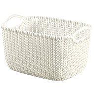 Curver Knit košík guľatý 8 l krémový - Úložný box