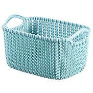 Curver Knit košík 3 l modrý