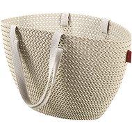Curver Knit taška Emily krémová - Nákupná taška