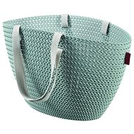 Curver Knit taška Emily sivomodrá - Nákupná taška