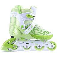 Spokey Turis, bielo-zelené, veľ. 33-36 - Kolieskové korčule