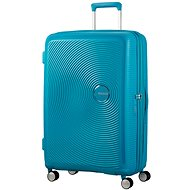American Tourister Soundbox Spinner 77 Exp Summer Blue