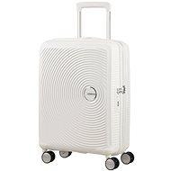 American Tourister Soundbox Spinner 55 Exp Pure White - Cestovný kufor s TSA zámkom