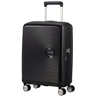 American Tourister Soundbox Spinner 55 Exp Bass Black - Cestovný kufor s TSA zámkom