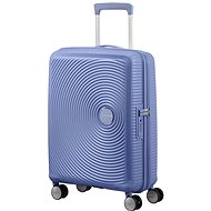 American Tourister Soundbox Spinner 55 Exp Denim Blue - Cestovný kufor s TSA zámkom
