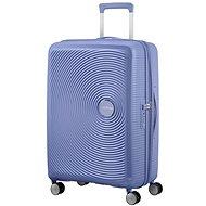 American Tourister Soundbox Spinner 67 Exp Denim Blue - Cestovný kufor s TSA zámkom