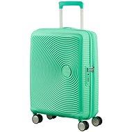 American Tourister Soundbox Spinner 55 Exp Deep Mint - Cestovný kufor s TSA zámkom