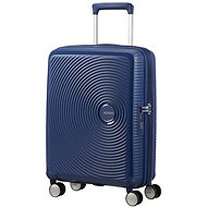 American Tourister Soundbox Spinner 55 Exp Midnight Navy - Cestovný kufor s TSA zámkom