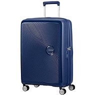 American Tourister Soundbox Spinner 67 Exp Midnight Navy - Cestovný kufor s TSA zámkom