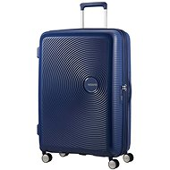 American Tourister Soundbox Spinner 77 Exp Midnight Navy