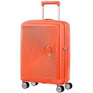 American Tourister Soundbox Spinner 55 Exp Spicy Peach - Cestovný kufor s TSA zámkom