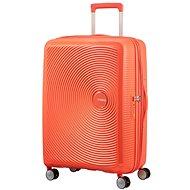 American Tourister Soundbox Spinner 67 Exp Spicy Peach - Cestovný kufor s TSA zámkom