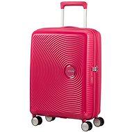 American Tourister Soundbox Spinner 55 Exp Lightning Pink - Cestovný kufor s TSA zámkom