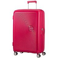 American Tourister Soundbox Spinner 77 Exp Lightning Pink - Cestovný kufor s TSA zámkom