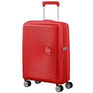 American Tourister Soundbox Spinner 55 Exp Coral Red - Cestovný kufor s TSA zámkom