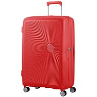 American Tourister Soundbox Spinner 77 Exp Coral Red