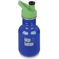 Klean Kanteen Kid Classic w/Kid Sport Cap 3.0 coastal waters 355 ml - Fľaša na vodu