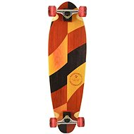 "Kryptonics 33"" Long Base Longboard – ""Split Grains"" - Longboard"