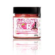 BIG BOY Grand Zero s bielou čokoládou a jahodami 250 g - Orechový krém