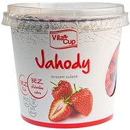 Vitacup jahody lyofilizované 25 g - Lyofilizované ovocie