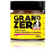 BIG BOY Grand Zero Arašidový krém s tmavou čokoládou a banánom 250 g - Orechový krém