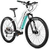 "Leader Fox Awalon 29"", biela/svetlo zelená - Horský elektrobicykel 29"""