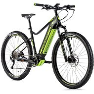 "Leader Fox Altar 29"" čierna mat/zelená 17,5"" - Horský elektrobicykel 29"""