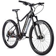 "Leader Fox Kent 29"" čierna mat/biela - Horský elektrobicykel 29"""