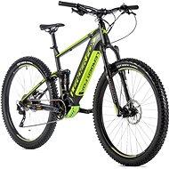 "Leader Fox Acron 29"" čierna mat/svetlo zelená 17,5"" veľ. M - Horský elektrobicykel 29"""