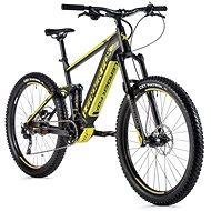 """Leader Fox Acron 27,5"""" čierna mat/žltá - Elektrobicykel"""