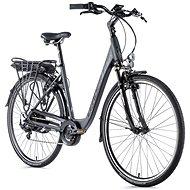 "Leader Fox Park City 28"" sivá 16,5"" - Mestský elektrobicykel"